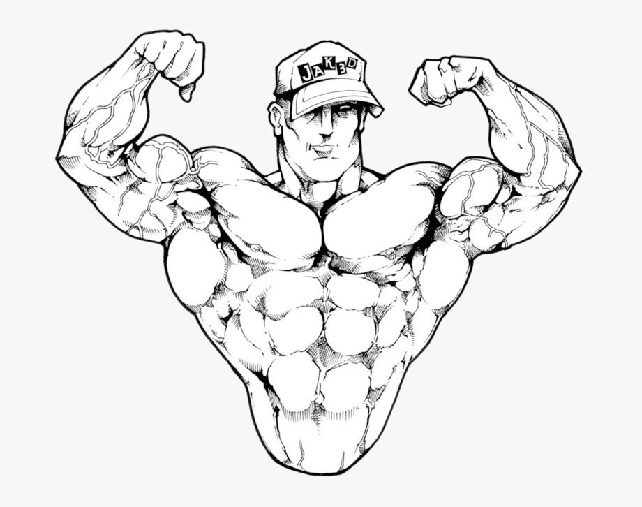 image transparent stock Muscle pose png gainz. Bicep drawing bodybuilding
