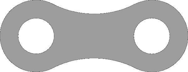 clip black and white download Bike Chain Clipart