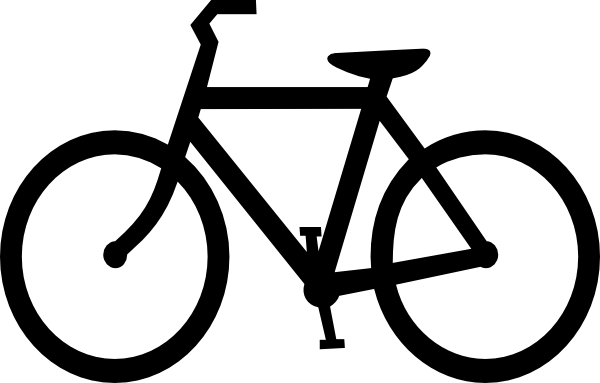 banner royalty free stock Bike clip art at. Bicycle clipart.