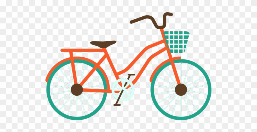 transparent Family bike png clip. Bicycle clipart.