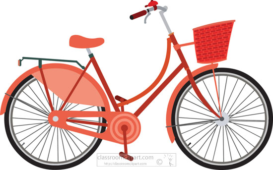 graphic freeuse Bicycle clipart. Free clip art pictures.