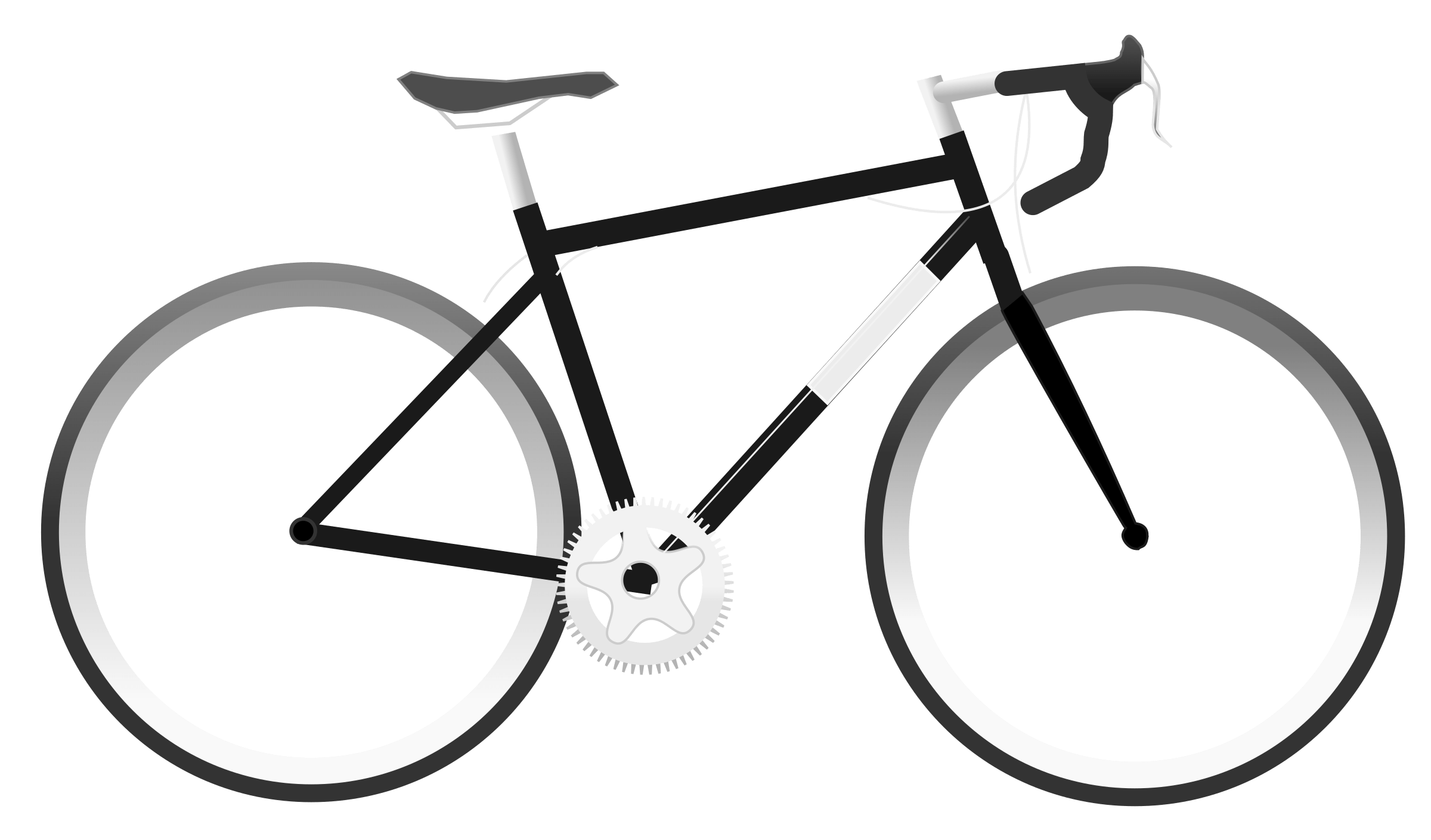 svg royalty free stock Bike clipart. Simple transparent png stickpng.