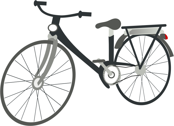 clip stock Cycling bike free on. Bicycle clipart non living thing.