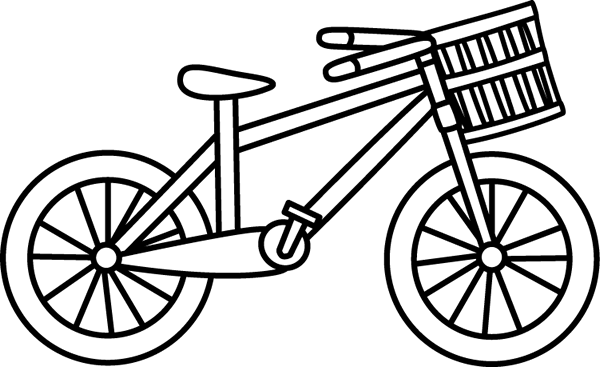 png transparent Bicycle clipart toddler bike. Black and white with.