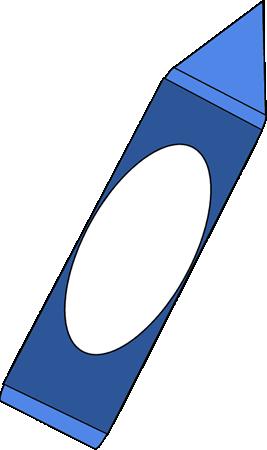 png transparent stock Big Blue Crayon Clip Art