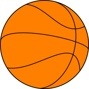 clipart royalty free stock Basketball clip art at. Big clipart.