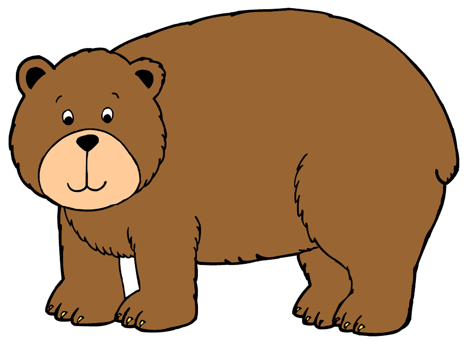 picture royalty free stock Our aims lets play. Big clipart bear hunt.