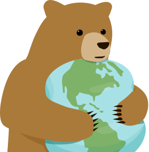 clip art royalty free download About the bears hugging. Big clipart cave bear.