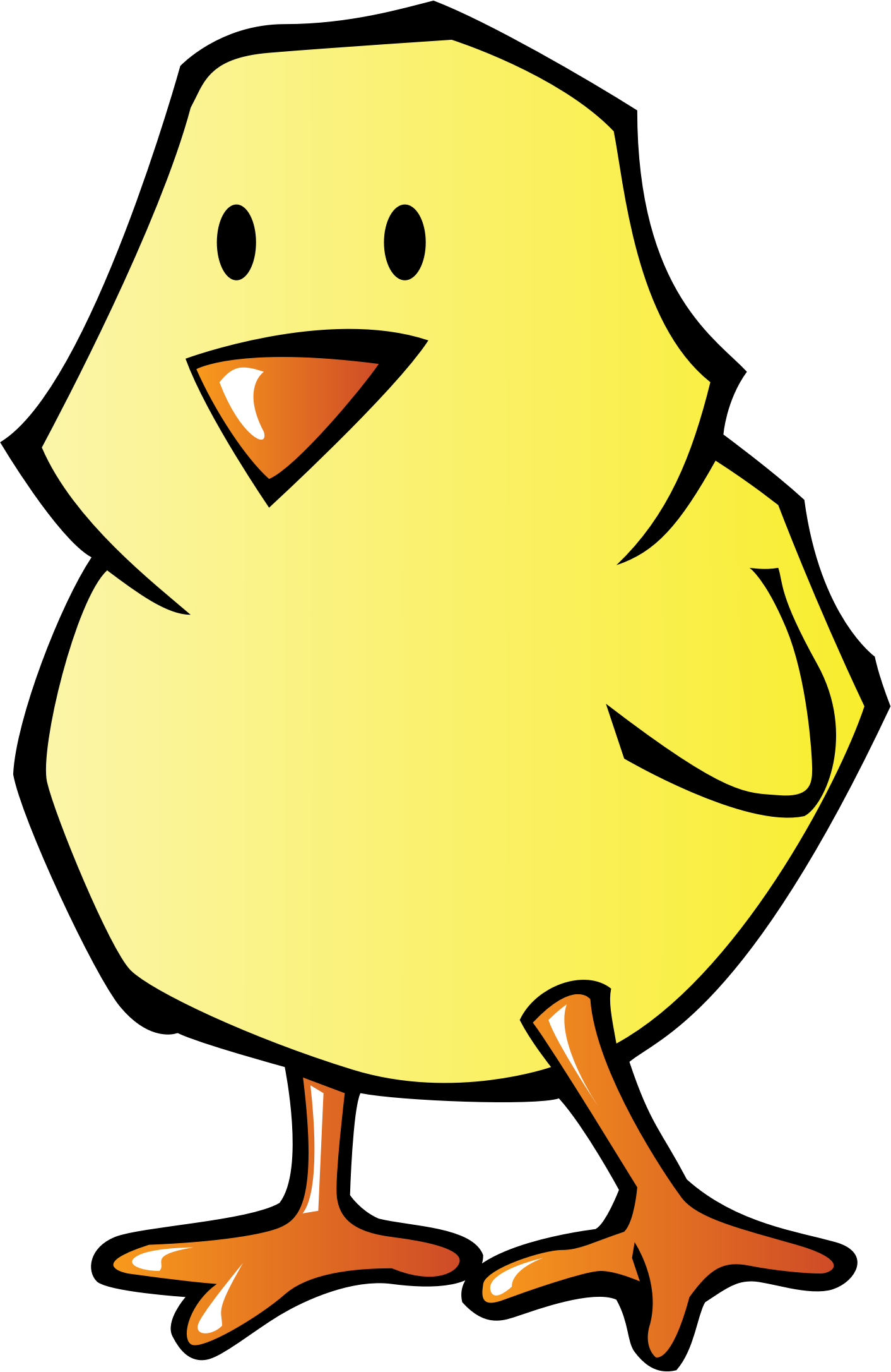 picture free Big clipart chicken chick. Image png.