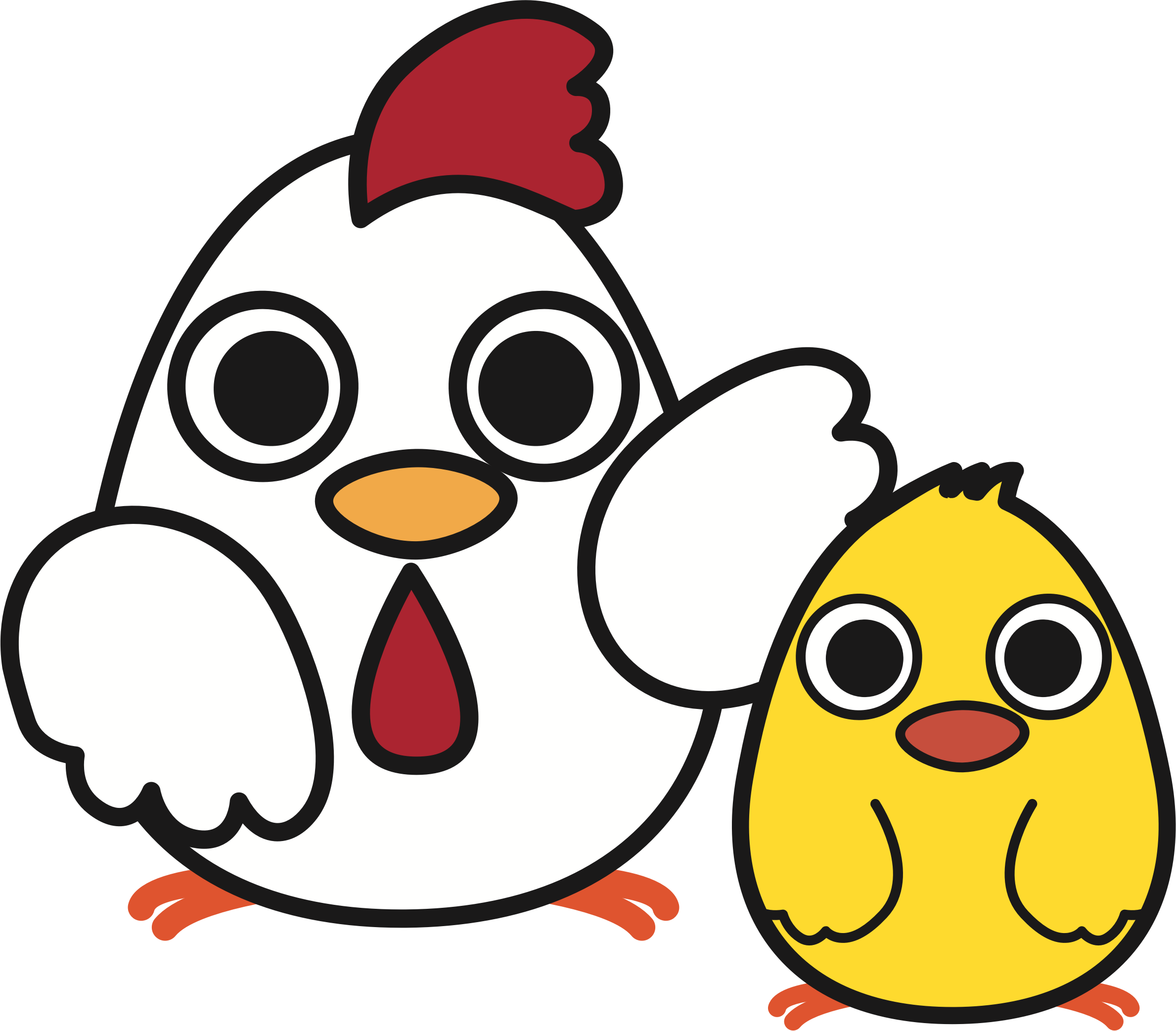 png free With image png. Big clipart chicken chick.