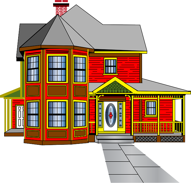 image black and white neighborhood street clipart #66156028