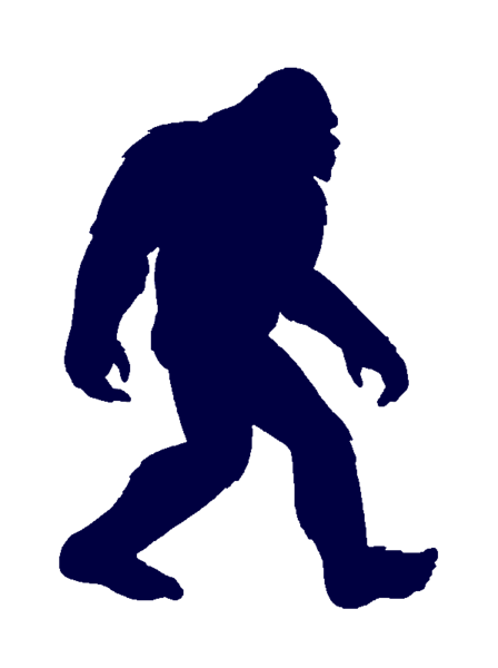 picture royalty free download Bigfoot Clip Art