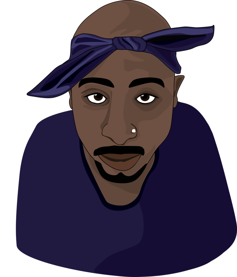 clipart royalty free stock singer drawing 2pac #115652237