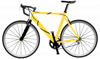 jpg library library Bicycle png images transparent. Bike clipart