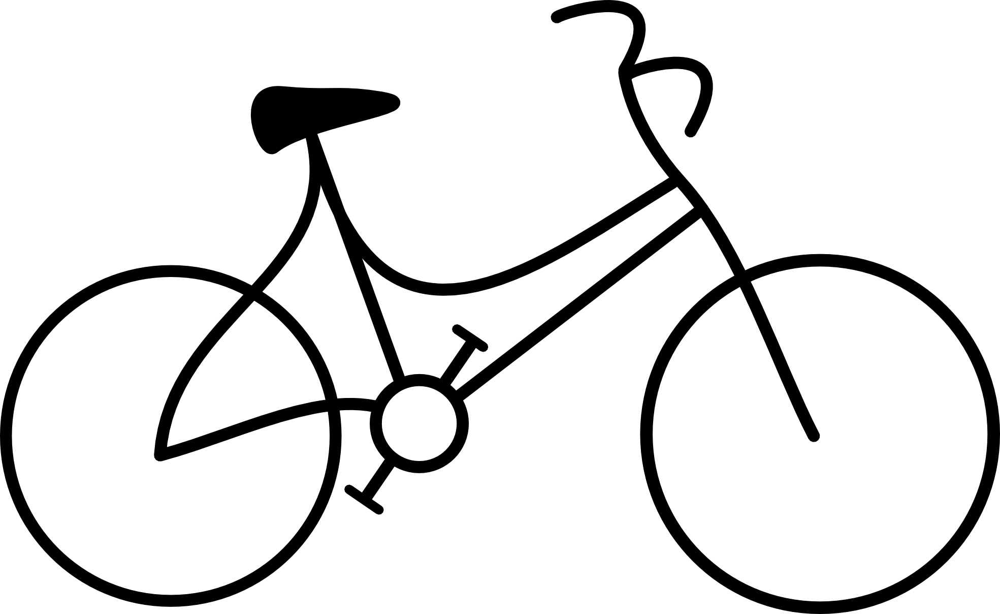 banner free library Bike clipart. Black and white panda