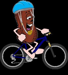 clip transparent library Race peanut butter festival. Bike clipart bike parade.