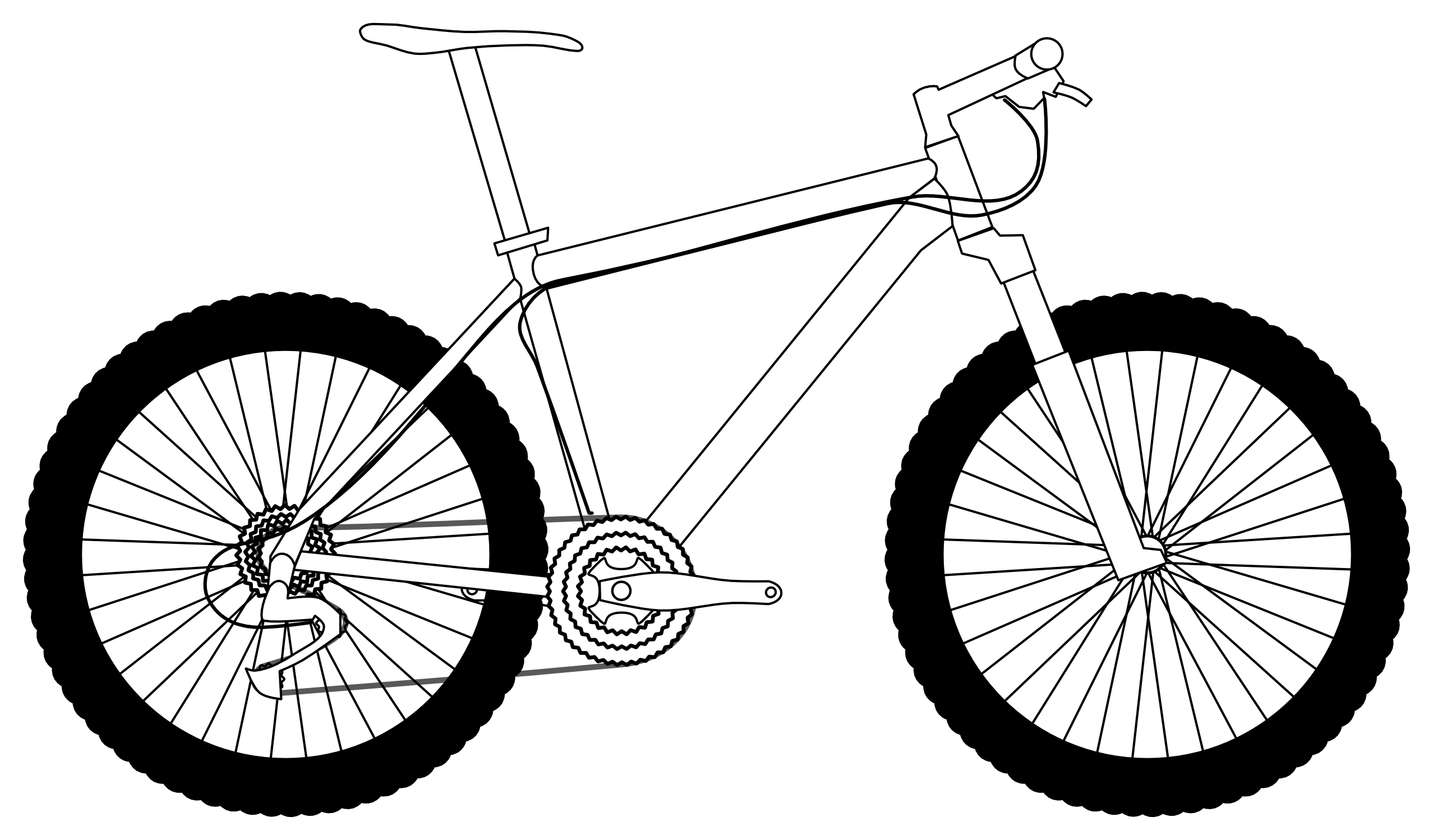 png free download Bike clipart bike scooter. Outline drawing at getdrawings.