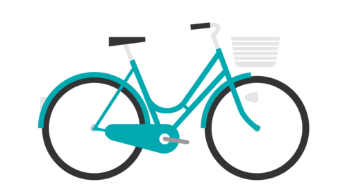 graphic free Bike clipart pushbike. Good rotations bicycles for.