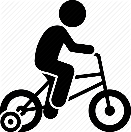 clip art free Children riding toy vehicles. Bike clipart toddler bike.
