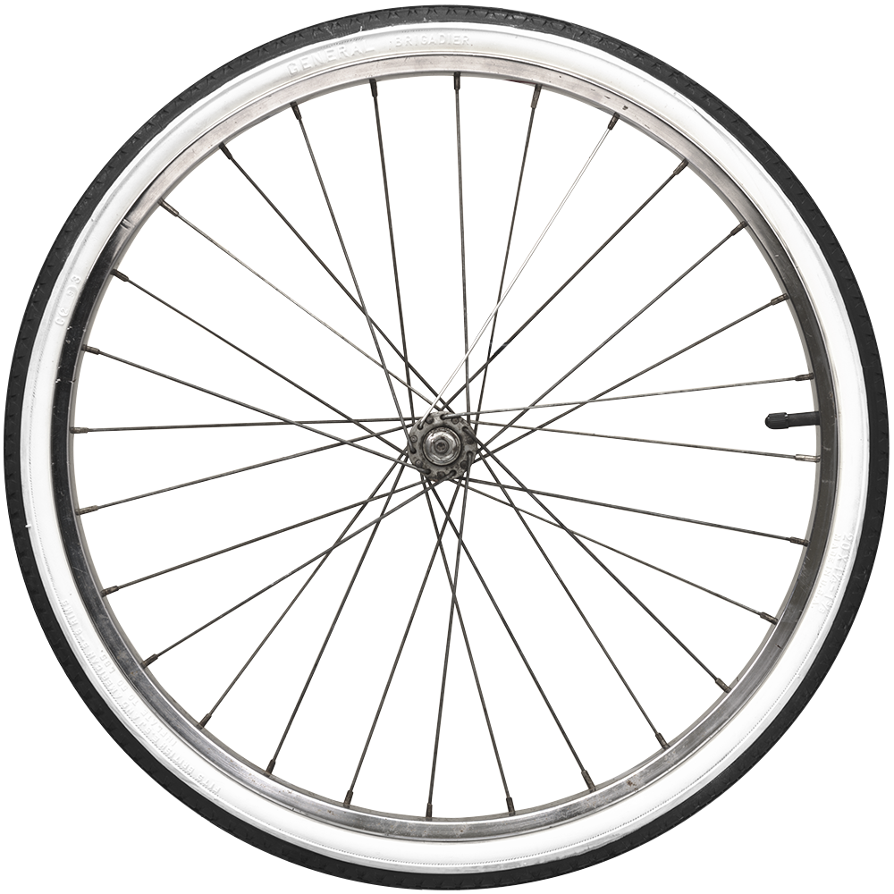 vector black and white stock Bike wheel clipart.  collection of vintage.