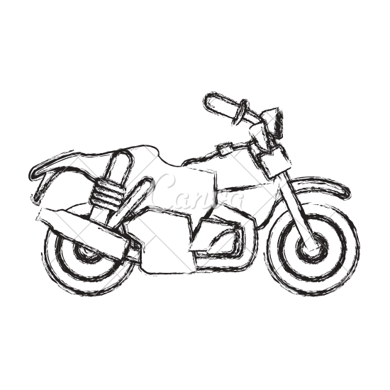 stock Motorcycle Drawing Images at GetDrawings