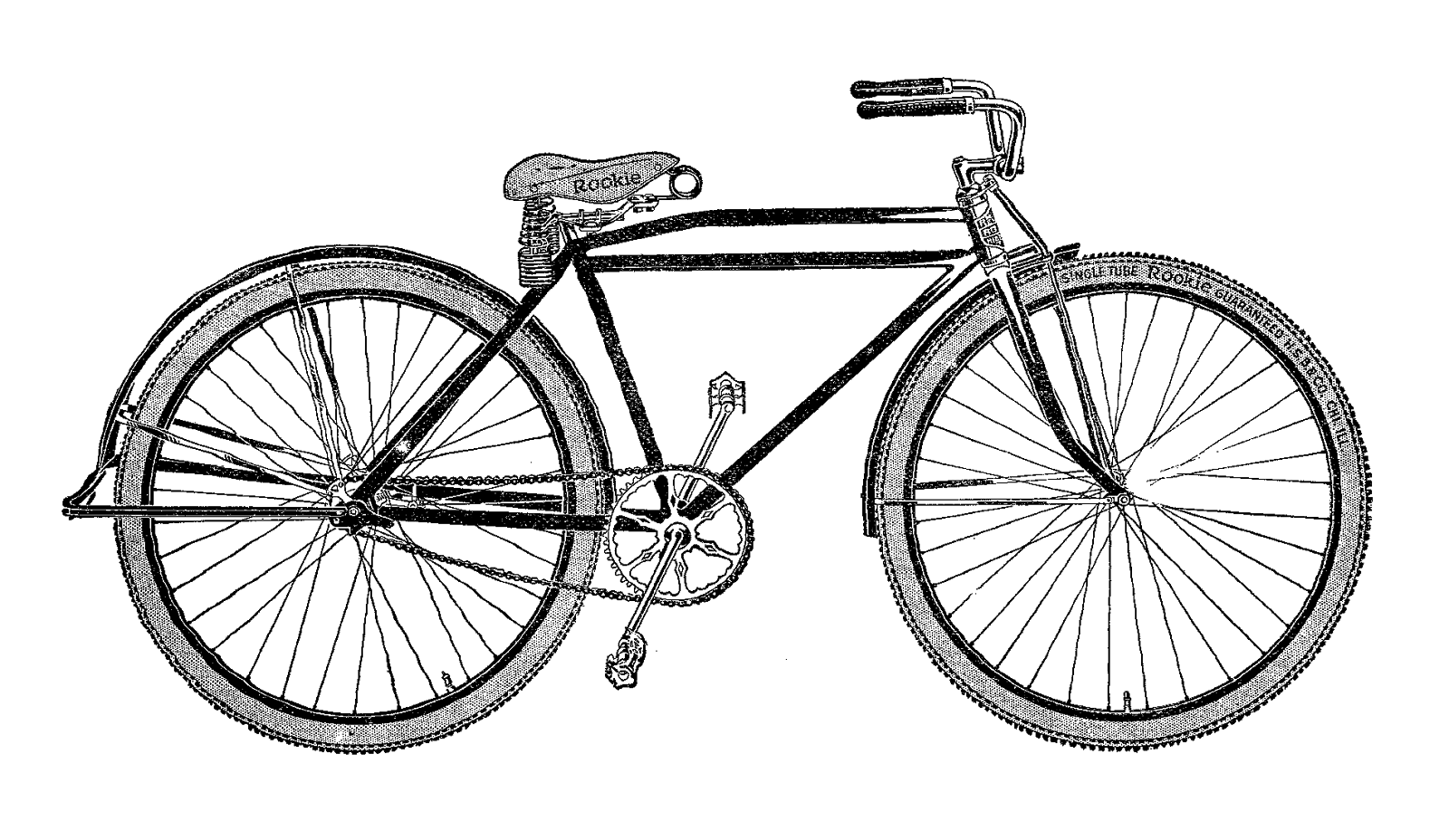 picture free download Vintage Bike Silhouette at GetDrawings