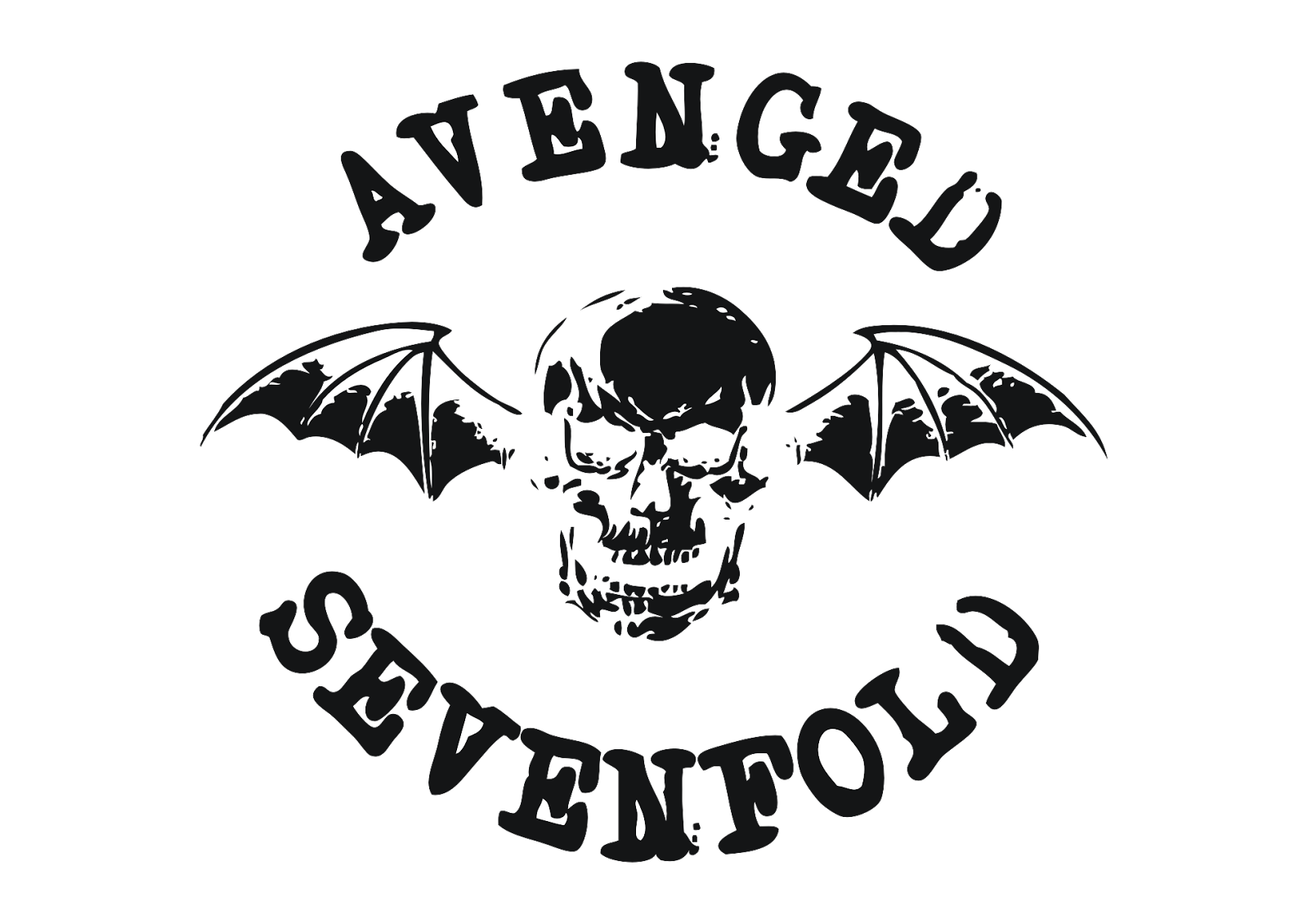 banner free library Logo avenged sevenfold free. Vector bands singer