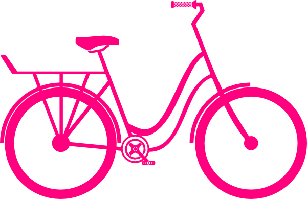 clip free Pink Bike Clip Art at Clker