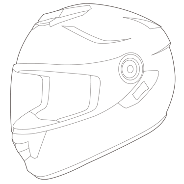 picture free stock Motorcycle Helmet Drawing at GetDrawings