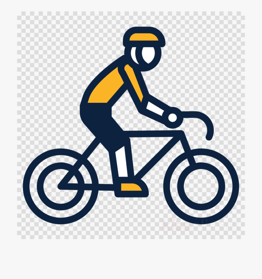 png transparent library Biking clipart. Bicycle cycling transparent ride.