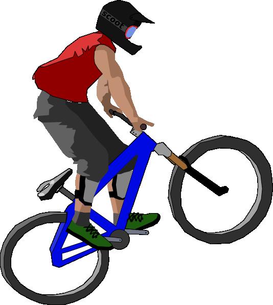 png free stock Biker clip art at. Biking clipart