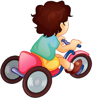 picture stock Boy on bicycle cute. Biking clipart baby