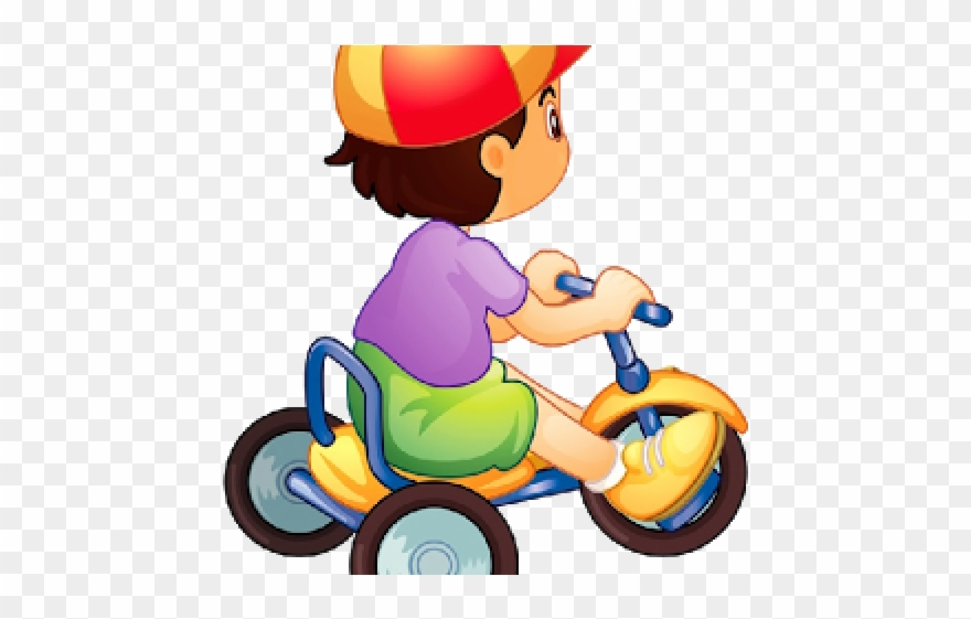 banner library library Tricycle bike enfant png. Biking clipart baby