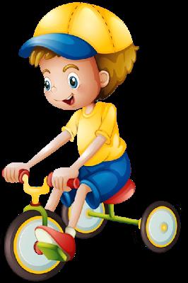 svg free Boy on bicycle cute. Biking clipart baby.