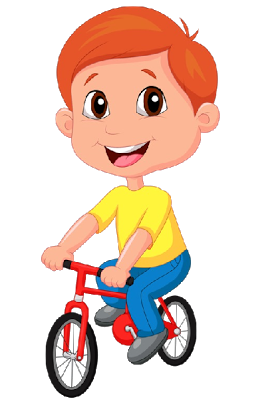 vector transparent download Biking clipart baby. Boy on bicycle cute