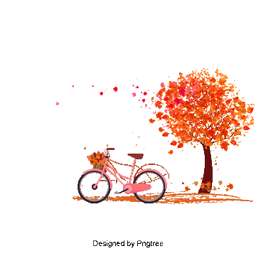 vector black and white library Bicycle png vector psd. Biking clipart tree.