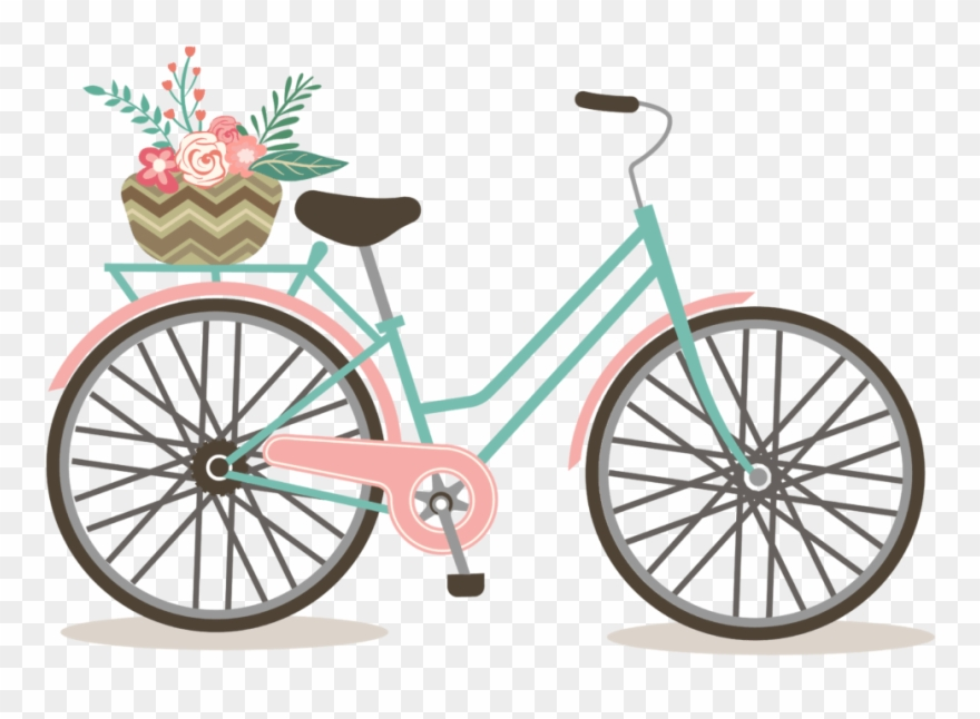 graphic free download Biking clipart vintage bicycle. Cycling clip art free.
