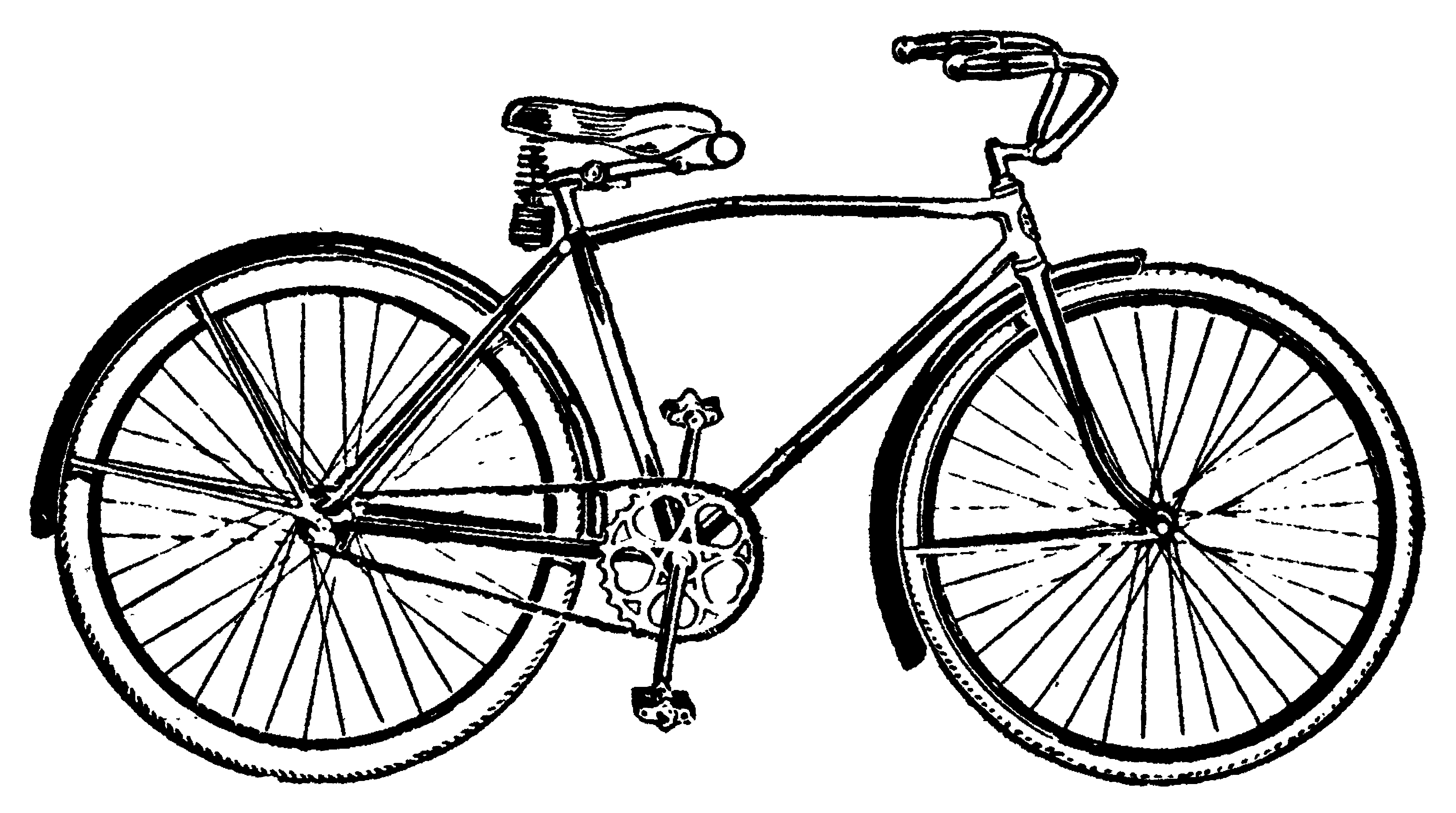 banner royalty free download Biking clipart vintage bicycle. Clip art free .