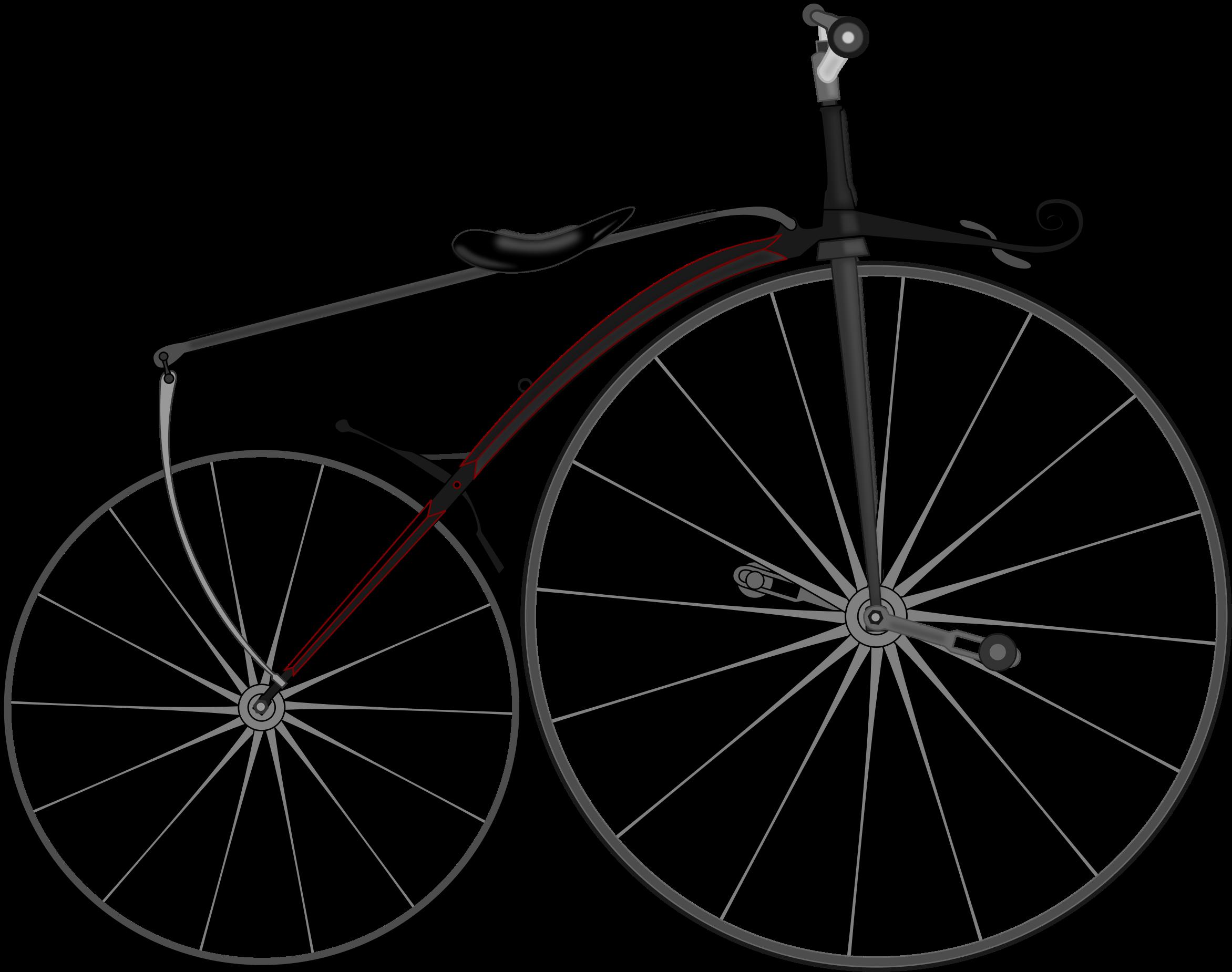 banner royalty free download Biking clipart vintage bicycle.  boneshaker bike by.