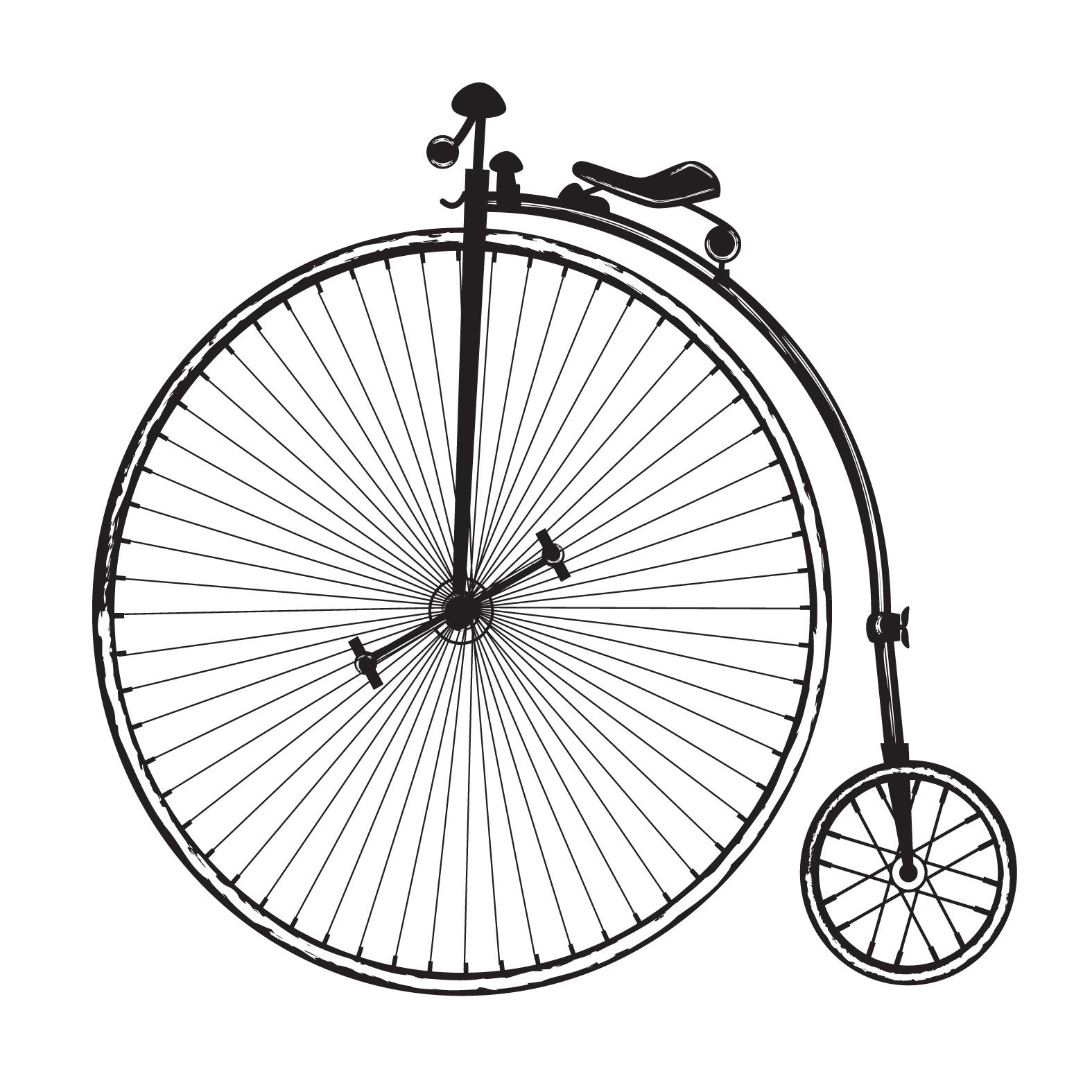 banner royalty free Free clip images art. Biking clipart vintage bicycle.