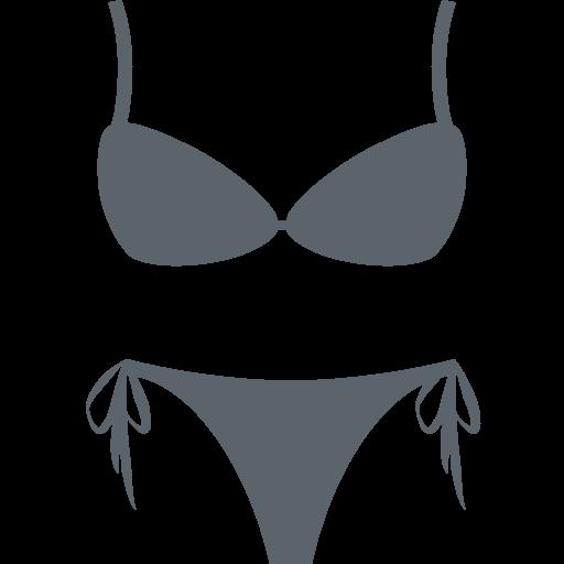 clip art black and white library Bikini Emoji for Facebook