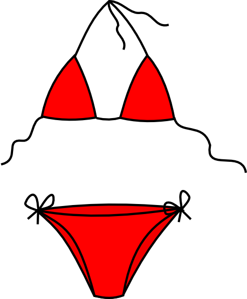 clip freeuse download Clip art clipart panda. Bikini vector swimming attire