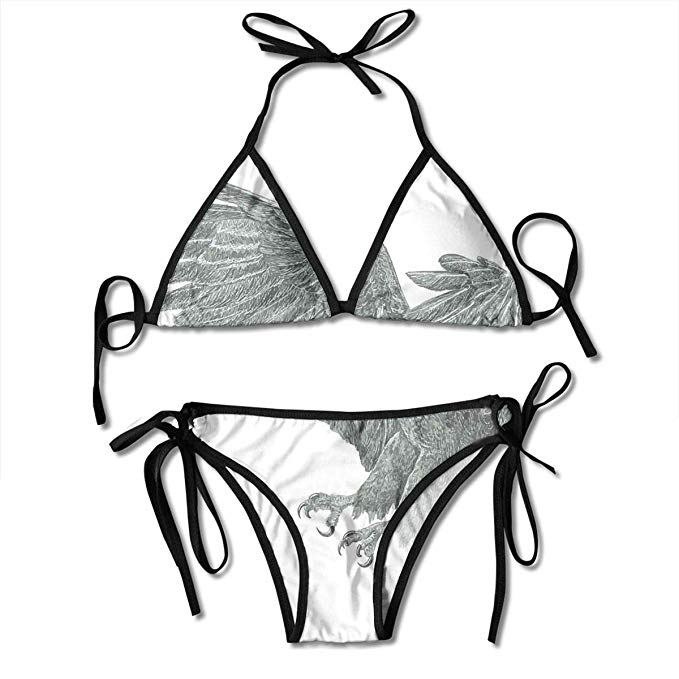 clipart black and white library Amazon com women s. Bikini drawing black and white