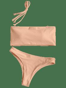 clip art library library Maillot de bain bandeau. Bikini transparent beige