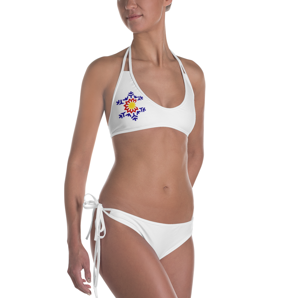vector library library Bikini transparent high cut. Collection of free swimsuit