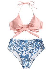 jpg library library Bikini transparent tiny. Wrap top with floral