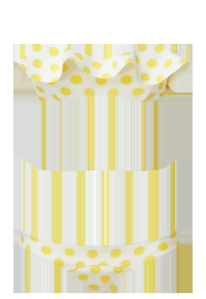 image freeuse library Natalie polka dot and. Bikini transparent yellow