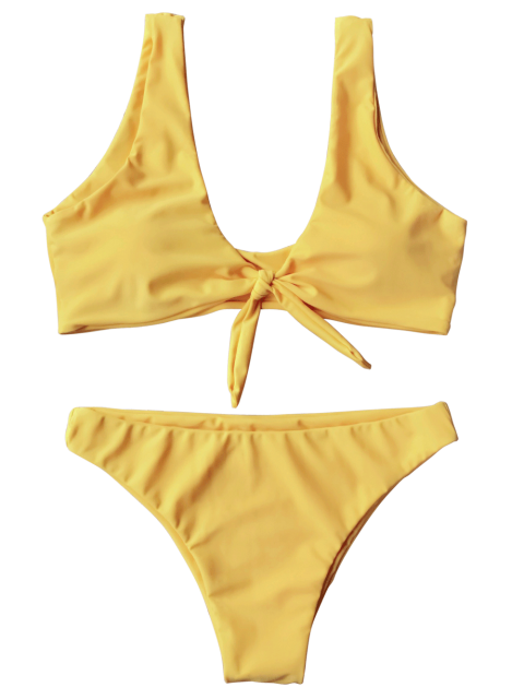 clip art transparent library Bikini transparent yellow. You ve got zaful