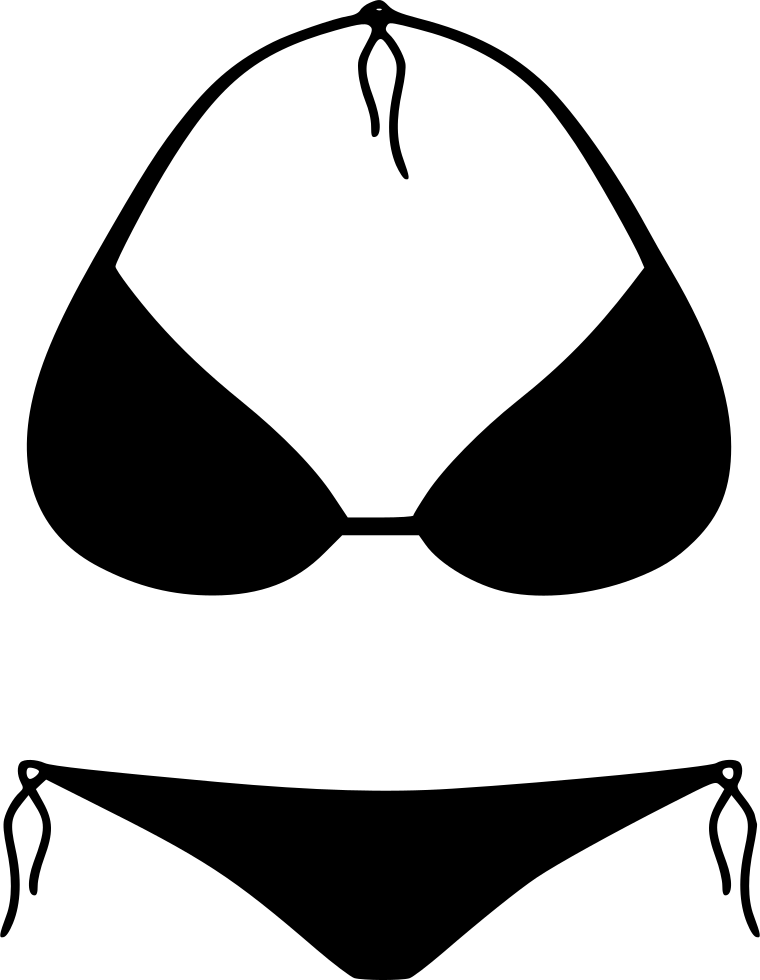 jpg free library Png icon free download. Bikini vector svg
