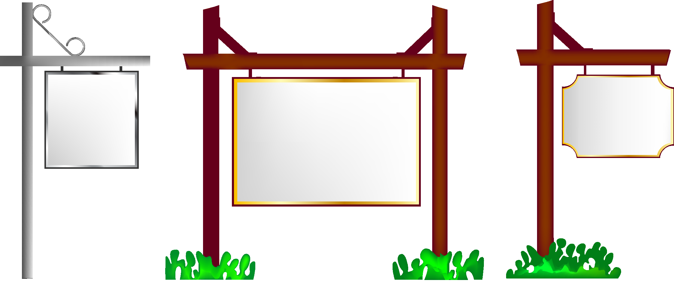 picture free Billboard vector frame. Clip art transprent png